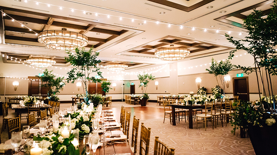 alfond inn ballroom wedding reception