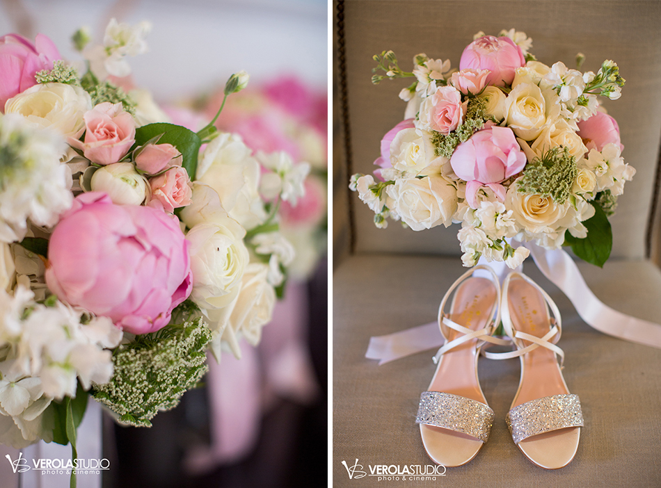 pink pelican wedding floral
