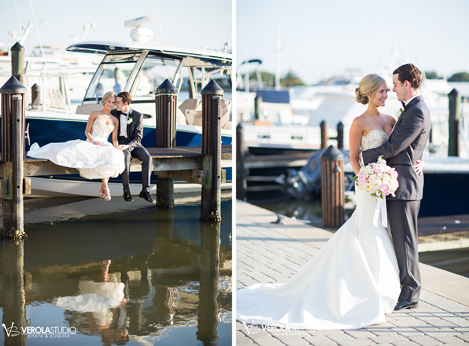 wedding photography boat