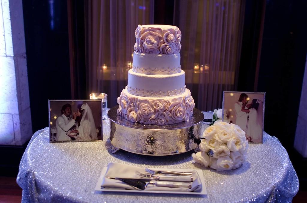 sequins cake