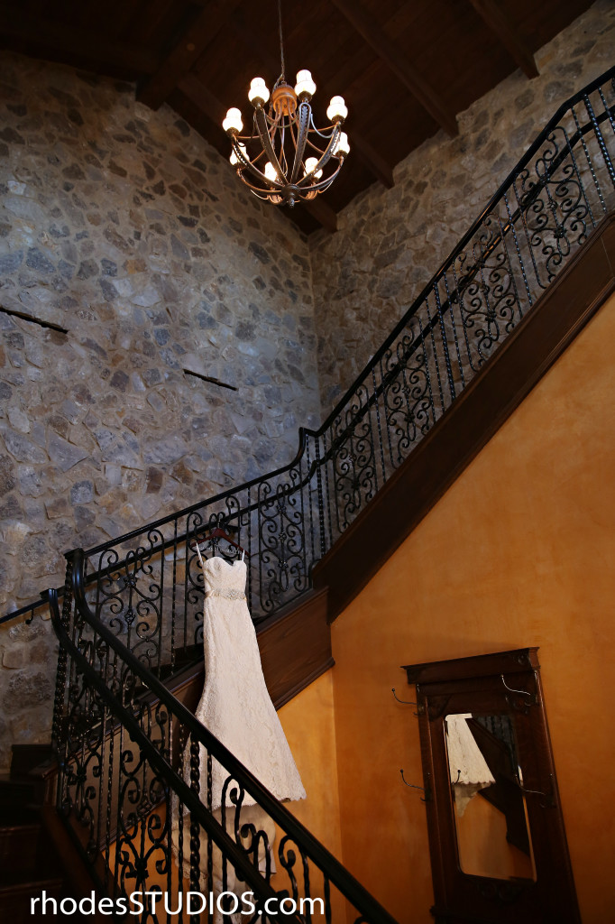 Bella Collina Wedding Stairs
