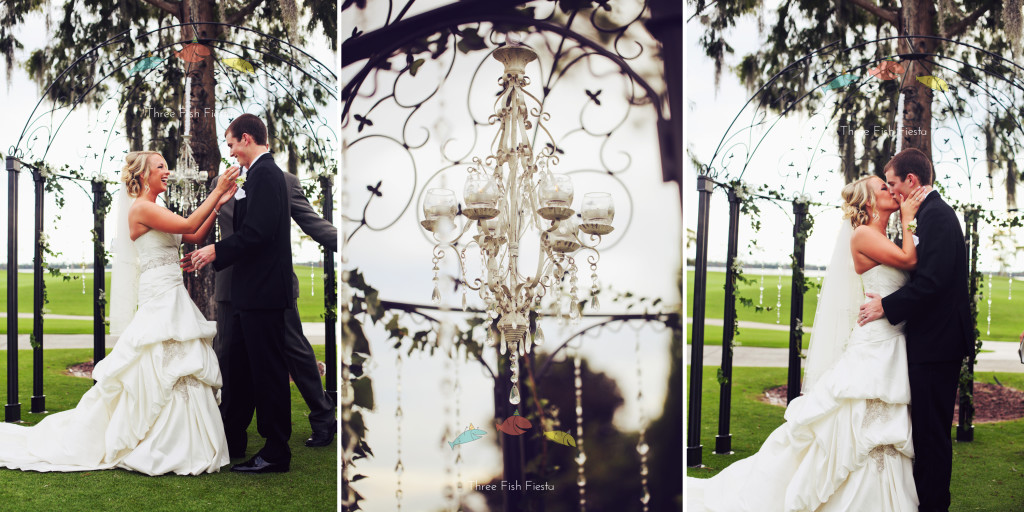 Floral Chandeliers Lake Nona Country Club