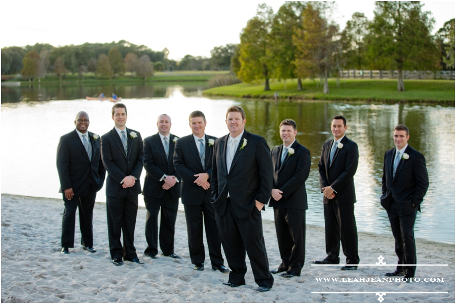 guys beach wedding