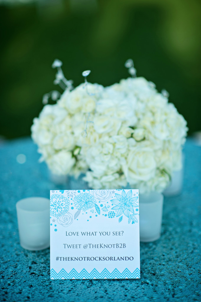 blue sequins wedding