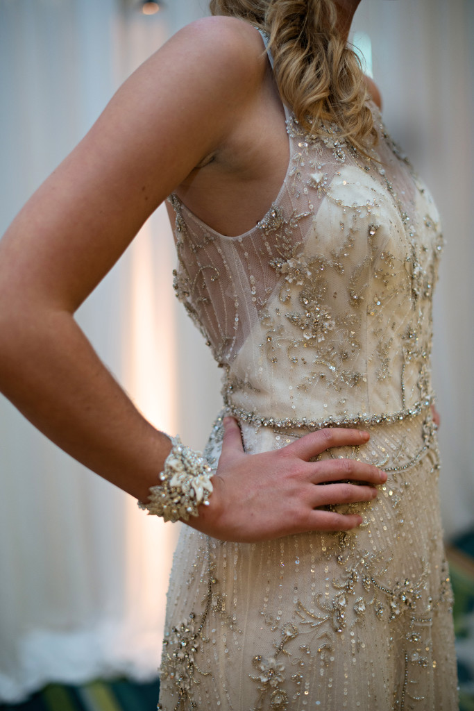 roaring 20s wedding dress