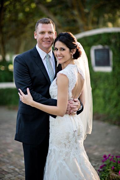 Casa Feliz | Luxury Garden Wedding | Ashley & Greg