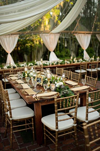 Tent Wedding Twinkle Lights Wedding Planner