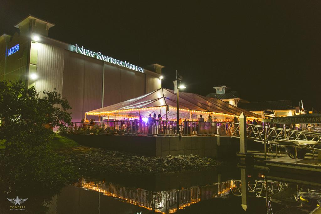new smyrna marina wedding