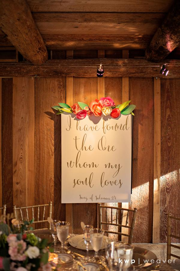 Vero Beach Wedding custom signs
