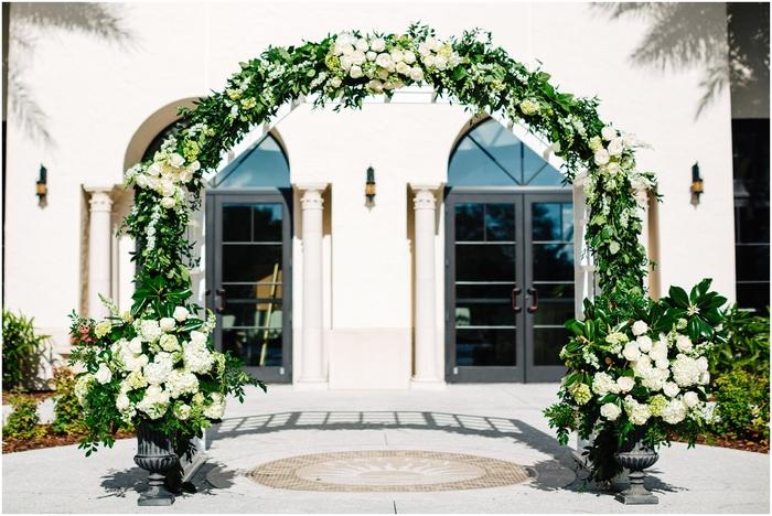 Lush Garden Ceremony