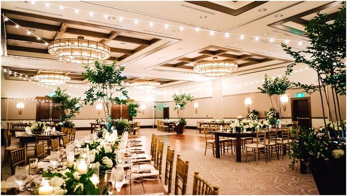 Alfond Inn wedding reception decor