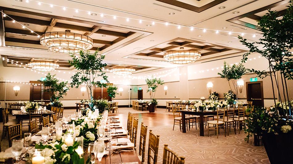 alfond inn ballroom wedding reception