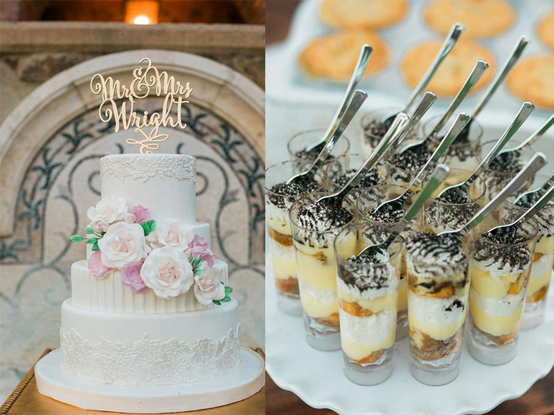 Bella Collina Wedding Food