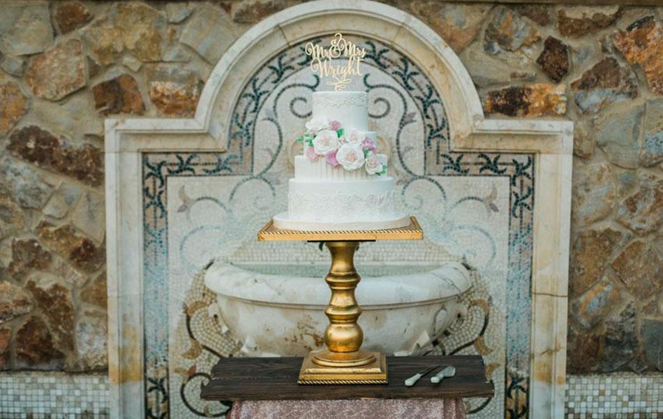 Bella Collina Wedding Cake