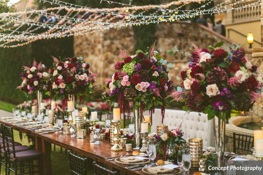 Luxury wedding floral