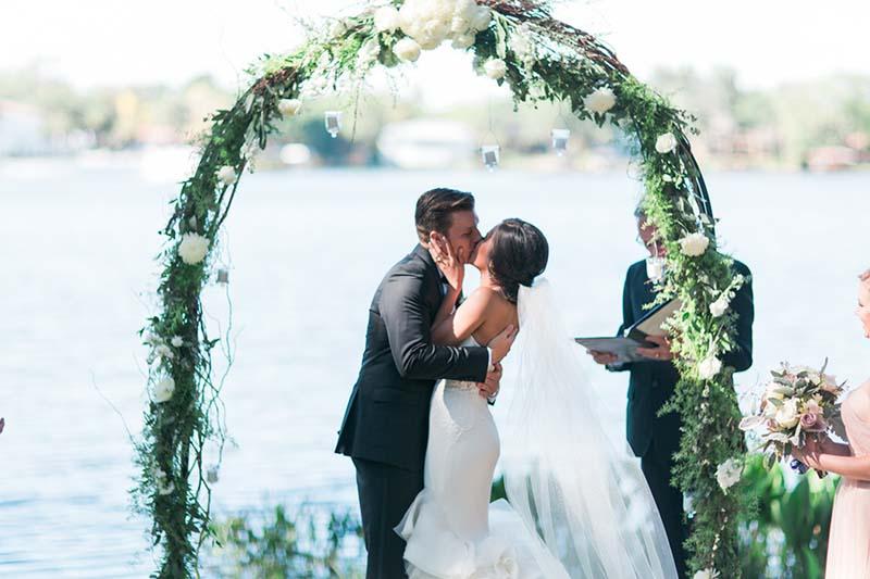 Ceremony Arch AATR Wedding Orlando Wedding Planner