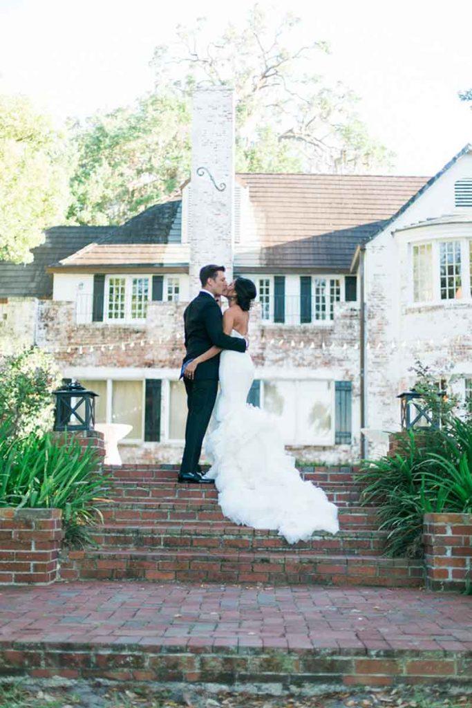 Estate Wedding Bride & Groom AATR Wedding Orlando Wedding Planner