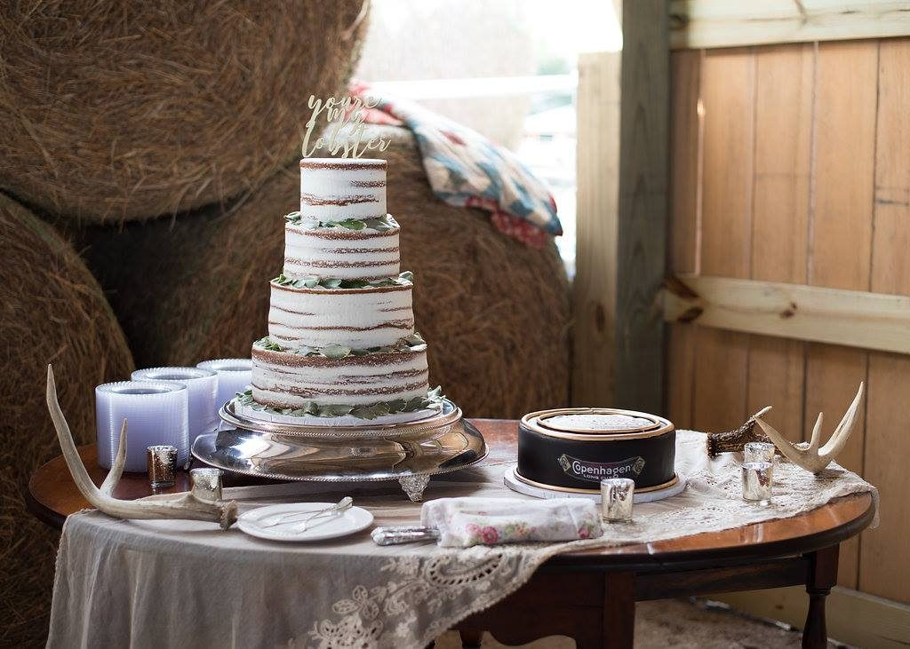 Rustic Wedding Cake AATR Weddings Wedding Planner