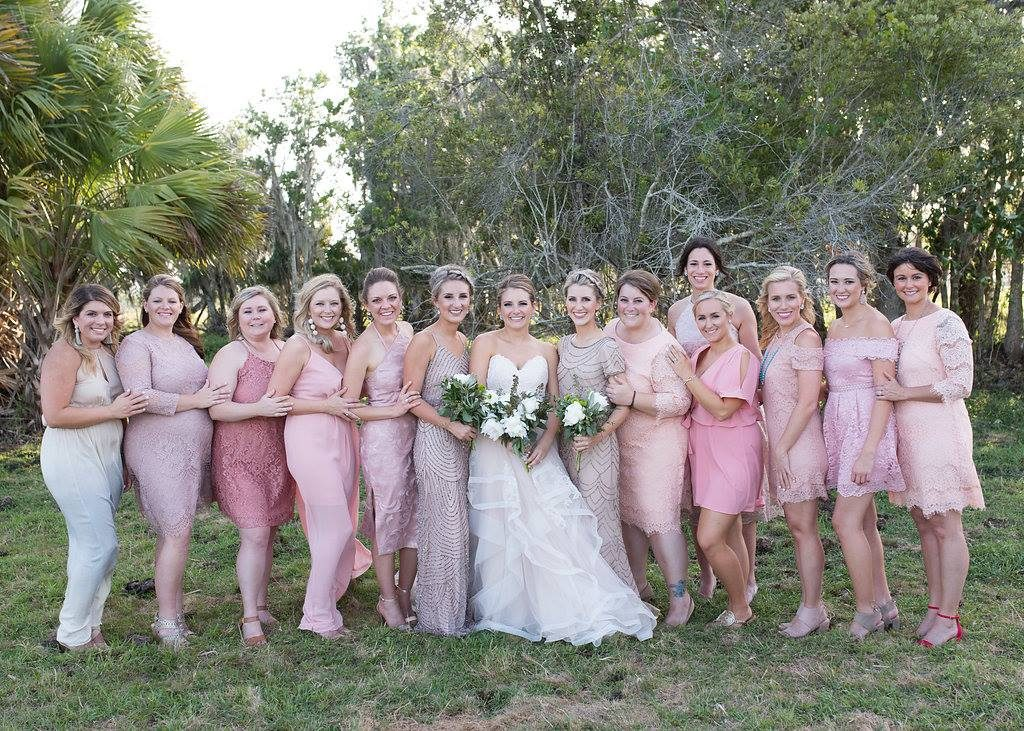 Bridal Party AATR Weddings Wedding Planner