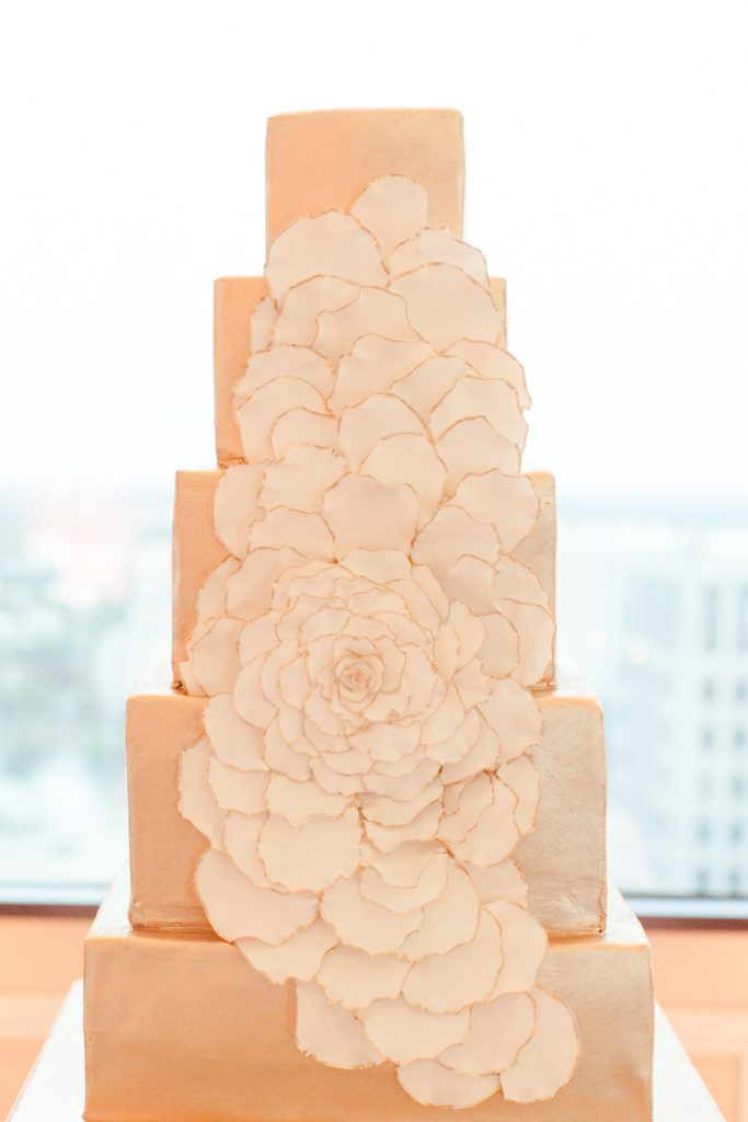 Luxury Wedding CakeAATR Wedding Orlando Wedding Planner