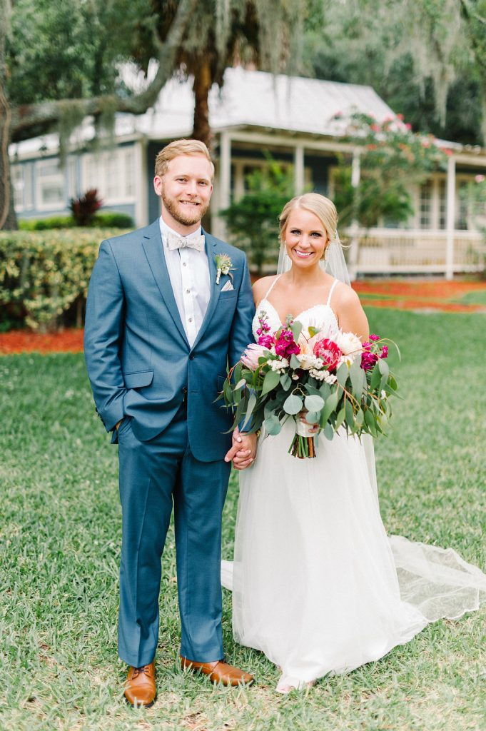 Bride & Groom First Look Orlando Wedding Planner