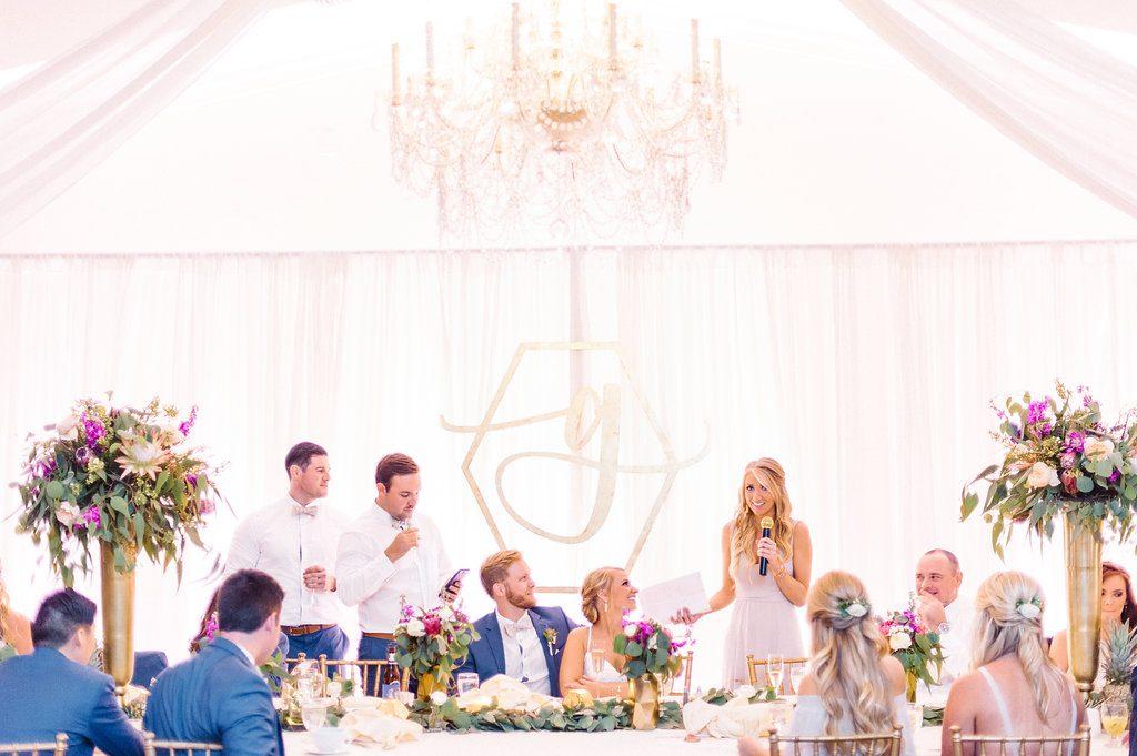 Monogram Wedding Decor Drape Wedding Planner