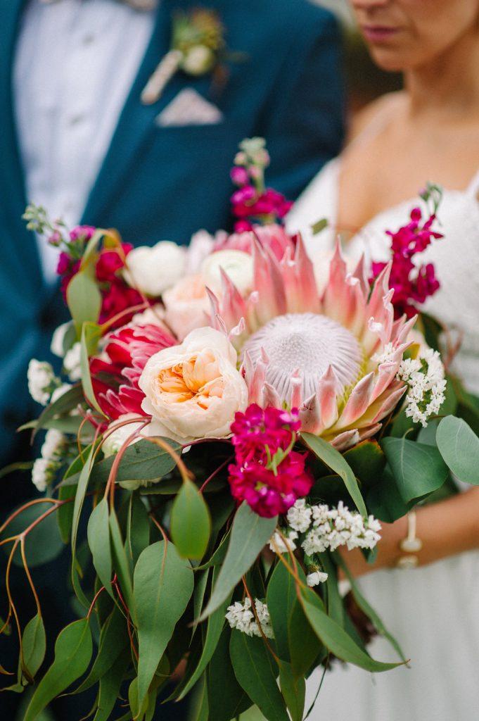 Wedding Bouquet Protea