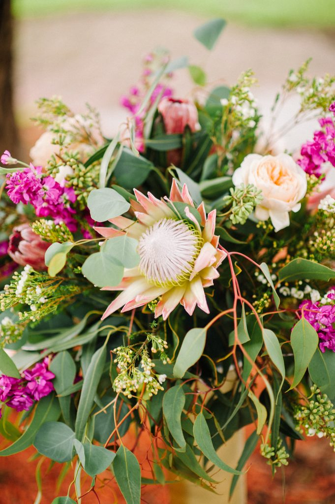 Wedding Floral Protea