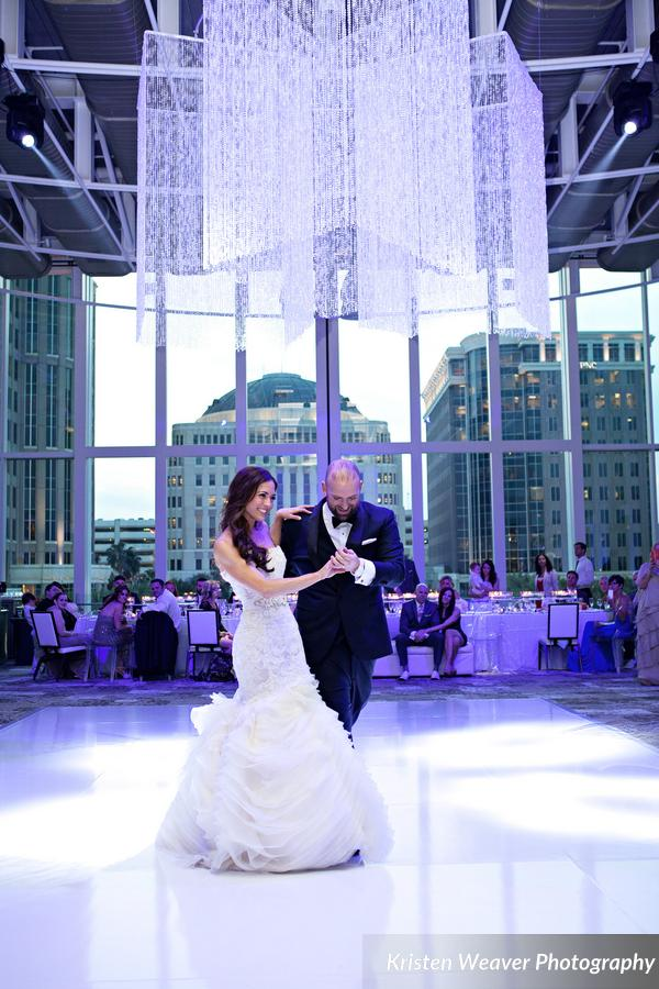 Dr. Phillips Center Wedding Planner First Dance