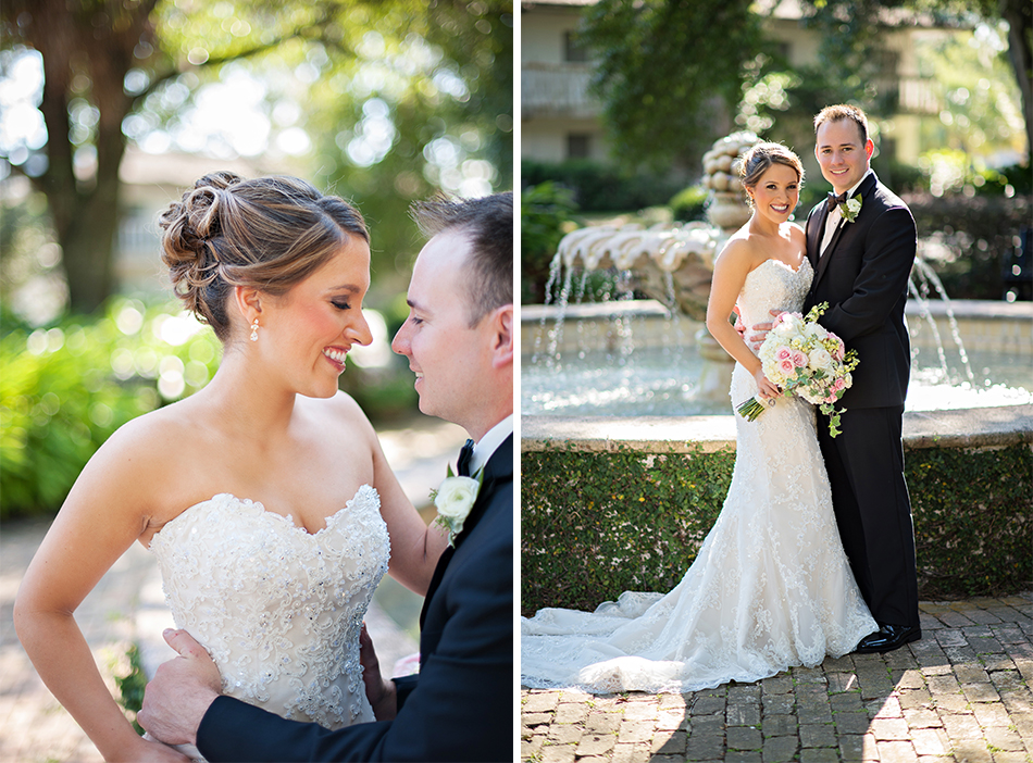Gold and Blush Casa Feliz Wedding | Andrea & Ben | Winter Park, FL