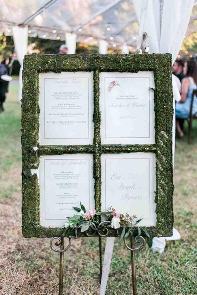 Seating Chart AATR Wedding Orlando Wedding Planner