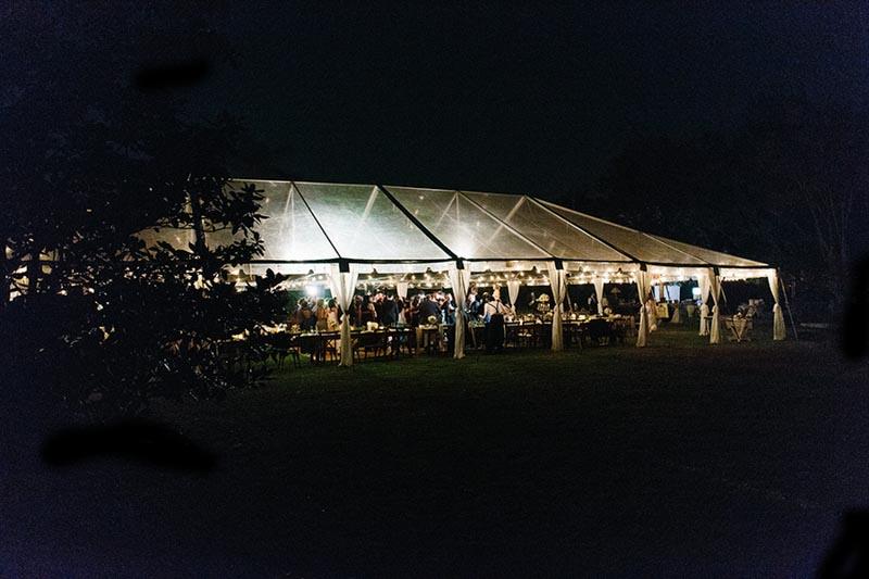 Tent Reception AATR Wedding Orlando Wedding Planner