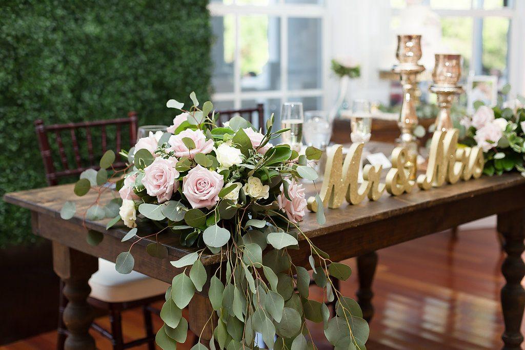 Sweetheart Table AATR Weddings An Affair to Remember Wedding Planner Orlando