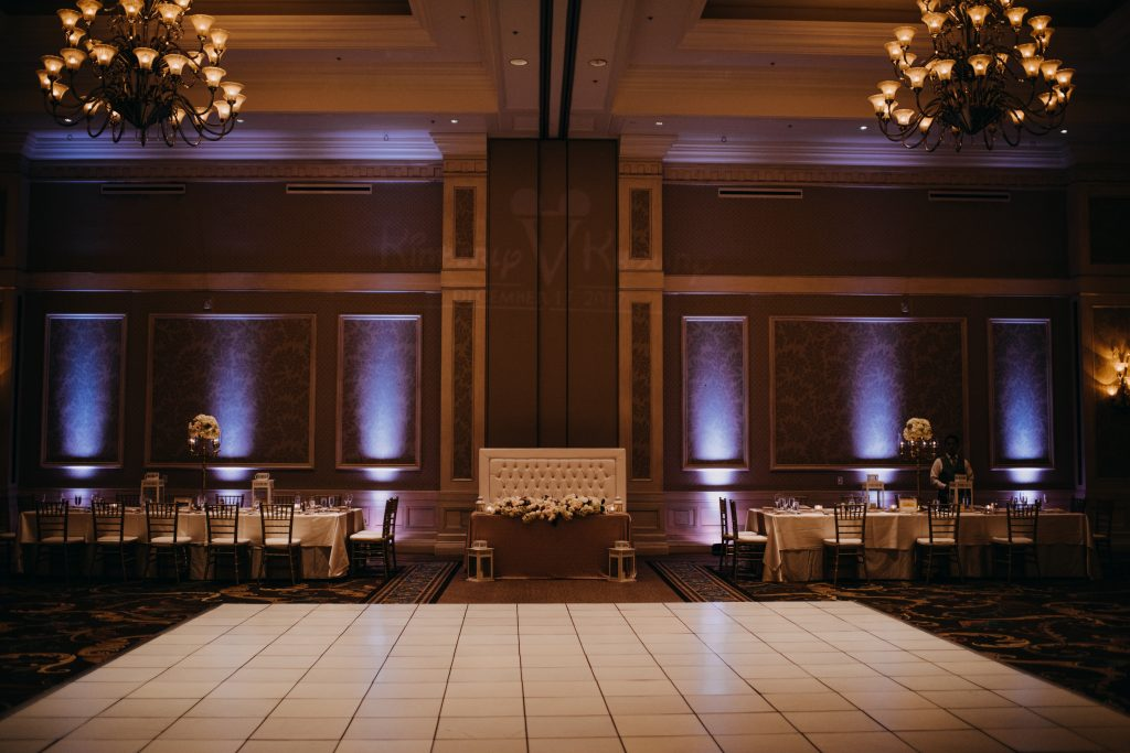 Waldorf astoria wedding reception