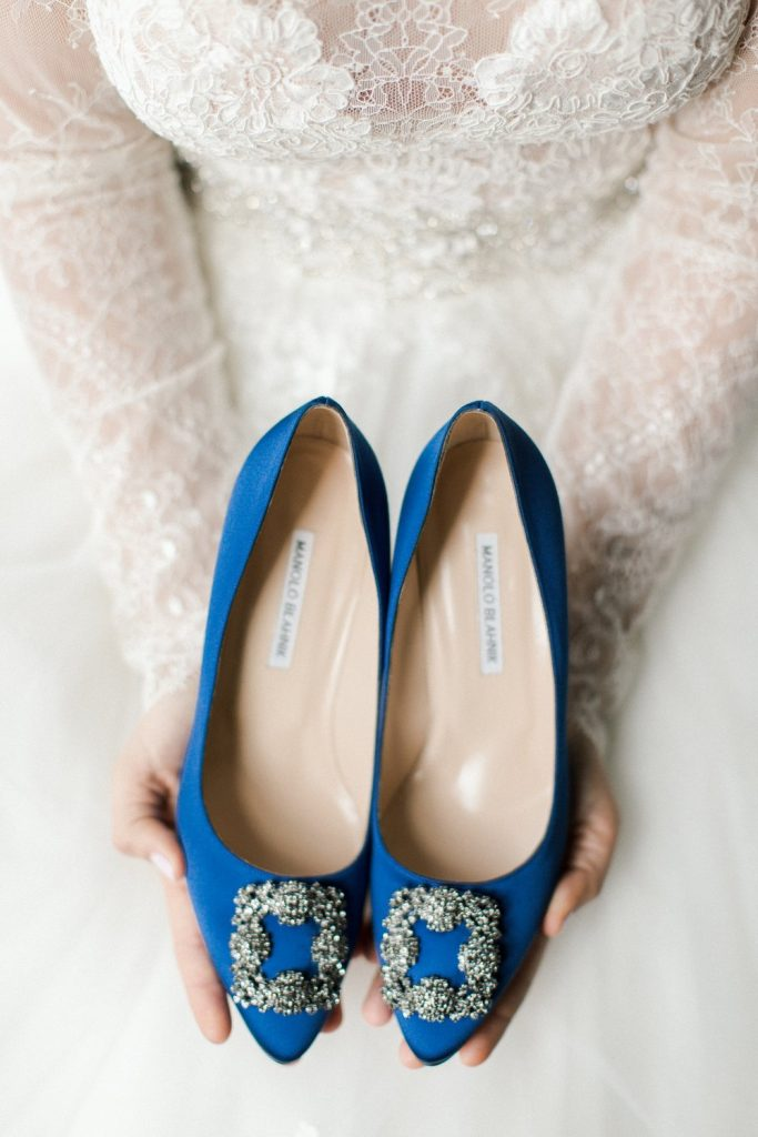 Winter Park Racquet Club Wedding | Wes & Rich Manolo Blahnik