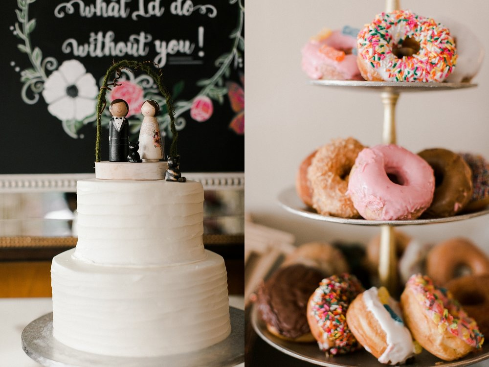 Winter Park Wedding Wedding Planner AATR Weddings Donuts