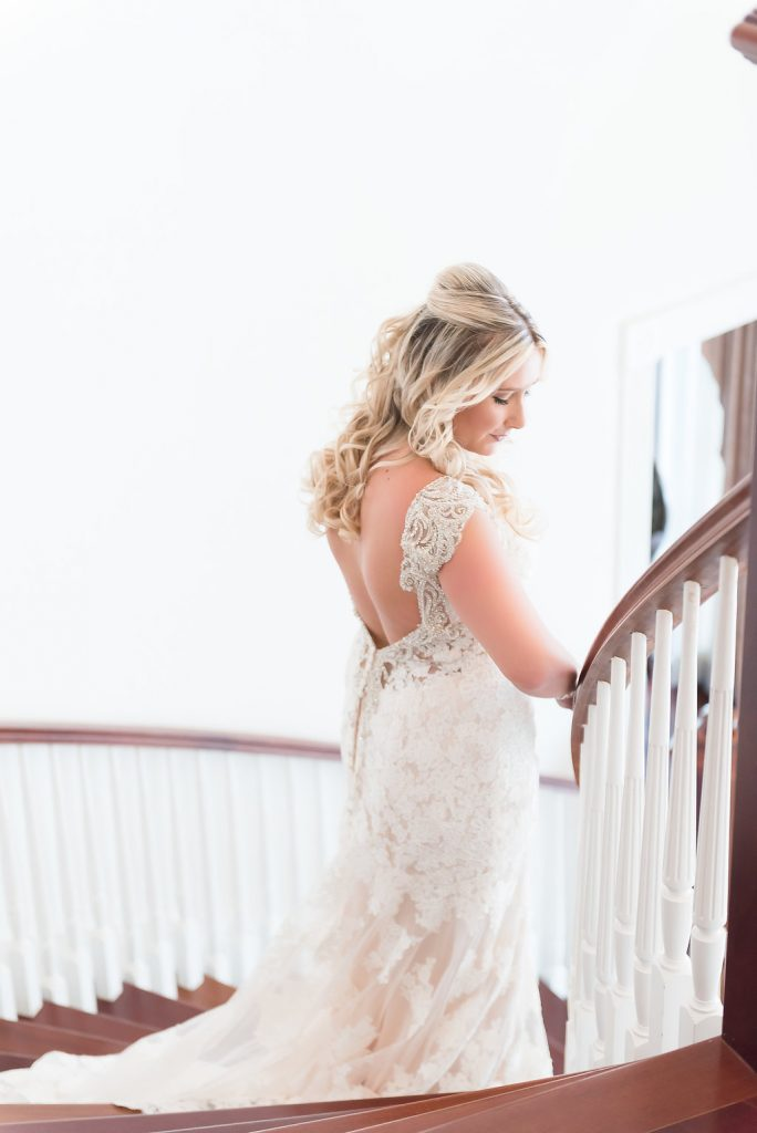 Bridal Portraits Staircase AATR Weddings An Affair to Remember Wedding Planner Orlando