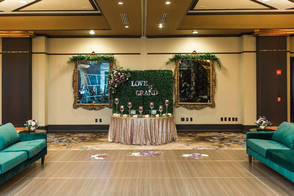 Orlando wedding reception