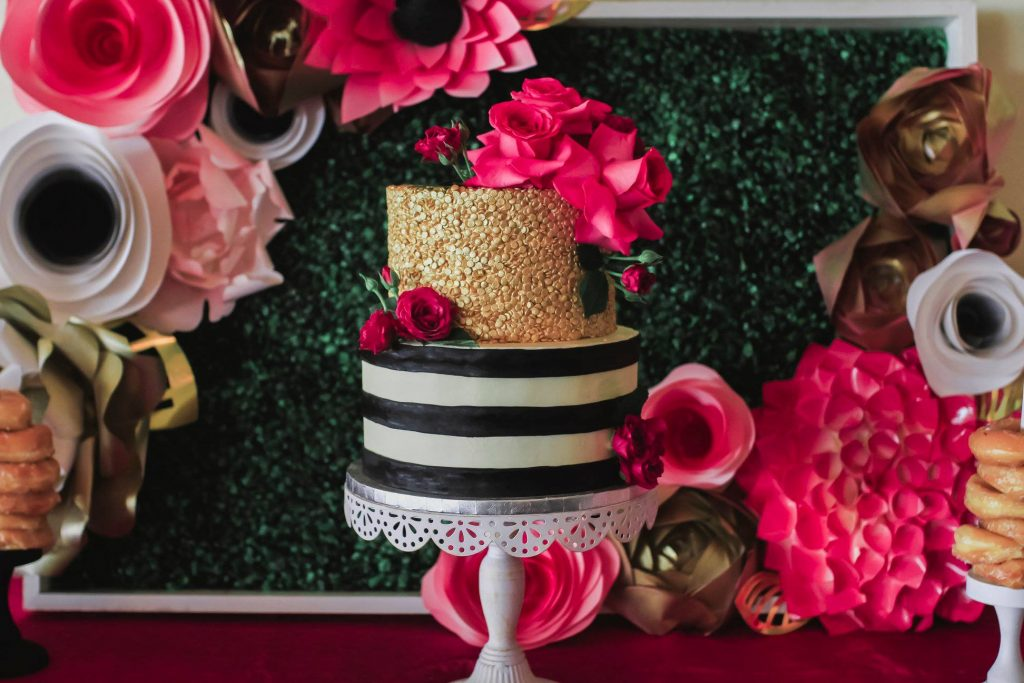 Kate Spade Cake An Affair to Remember Luxury Bridal Shower