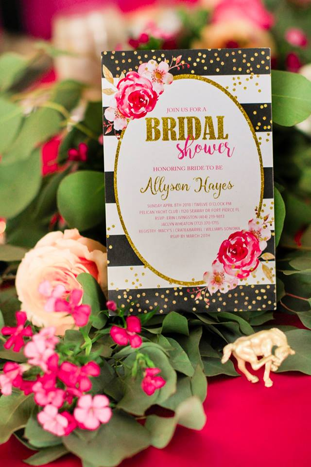 8ec3bbf0b2d Kate Spade Inspired Luxury Bridal Shower
