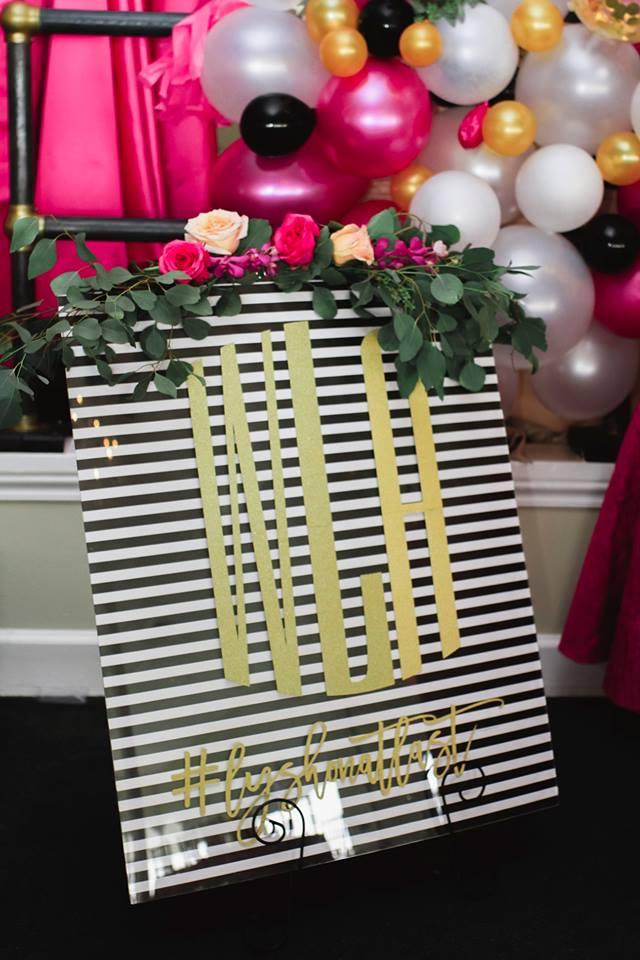 Kate Spade Inspired Luxury Bridal Shower